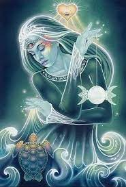 el árbol de las hijas. mujer diosa